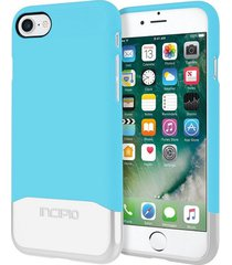 estuche protector incipio edge chrome iphone 7 - azul