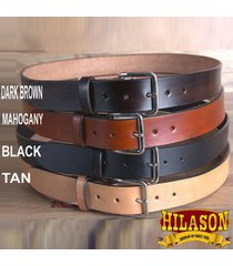 hilason western tough hand made heavy duty buffalo hide leather gun holster belt