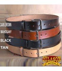 hilason western tough hand made heavy duty buffalo hide leather gun holster belt