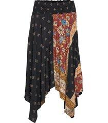 fal blunt knälång kjol multi/mönstrad desigual
