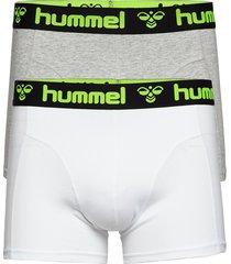 hmlmars 2pack boxers boxerkalsonger grå hummel