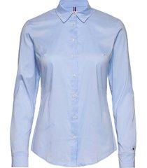 amy str shirt ls w1 långärmad skjorta tommy hilfiger