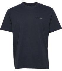 man jersey t-shirt t-shirts short-sleeved blå armani exchange