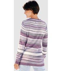 tröja paola ljusrosa::grå