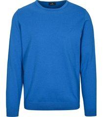 basefield pullover blauw regular fit 219015919/604