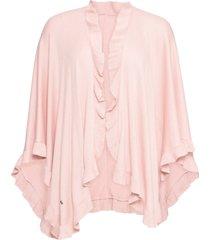 poncho con cachemire (rosa) - bpc bonprix collection