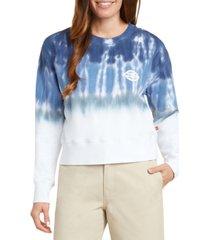 dickies crop tie dye sweatshirt