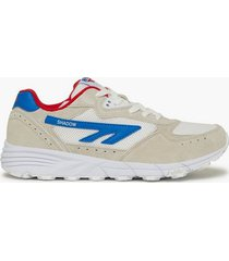 hi-tec shadow tl sneakers white/red/blue