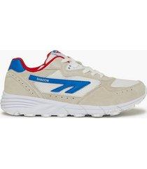 hi-tec shadow tl sneakers white/red/blue