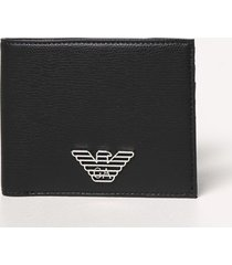 emporio armani wallet emporio armani wallet in synthetic leather