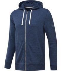 sweater reebok sport fitness elements marble group full zip