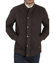 chaqueta algodón bombers chocolate rockford
