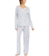 charter club cotton pajama set, created for macy's