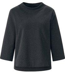 sweatshirt 3/4-mouwen van mybc grijs
