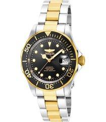 reloj invicta 17043 acero, oro acero inoxidable