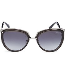 54mm cat-eye sunglasses