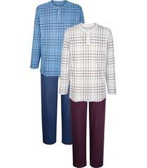 pyjama's roger kent blauw::aubergine