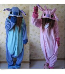 adult animal kigurumi pajamas costume cosplay onesie blue stitch angel lilo