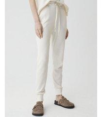 pantalón blanco system sausy
