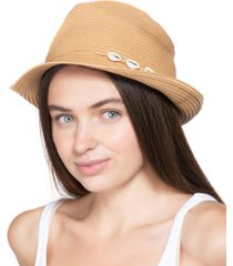 inc international concepts shell-band fedora, created for macy's