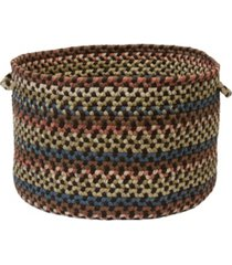 colonial mills cedar cove braided storage basket