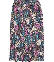 fanny knälång kjol multi/mönstrad stella nova