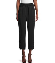 rochelle beaded trim pants