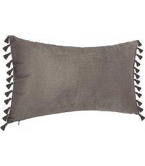 poduszka z chwostami szara
