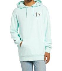 men's vans x moma salvador dali graphic hooded sweatshirt