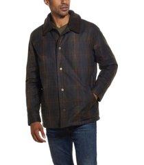weatherproof vintage men's tartan plaid wax jacket