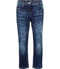 jeans cropped in stile cinquetasche (nero) - bpc bonprix collection
