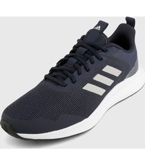 tenis training azul oscuro-blanco adidas performance fluidstreet