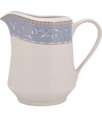 leiteira porcelana schmidt - dec. diva - multicolorido - dafiti