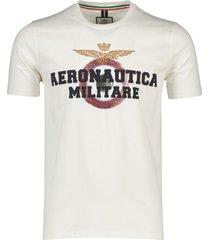 aeronautica militare t-shirt wit geprint