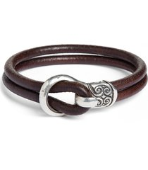 men's john varvatos leather bracelet