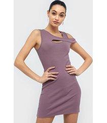 nly trend one side cut dress fodralklänningar