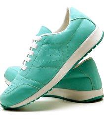 tãªnis sapatãªnis casual fashion dubuy 1102-1103el verde - verde - feminino - sintã©tico - dafiti