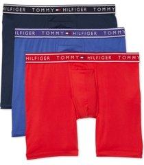tommy hilfiger men's 3-pk. flx evolve boxer briefs
