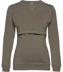 b warmer sweatshirt sweat-shirt tröja grön boob