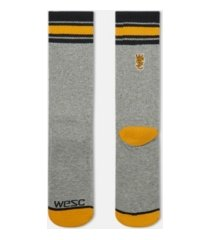 wesc single pack retro fashion men's socks