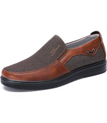 uomo scarpe di tela di stile casual tradizionale pechino a taglia grande