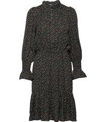 dress jurk knielengte zwart sofie schnoor
