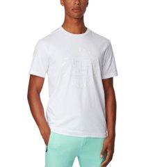 boss men's tee city stretch-cotton t-shirt