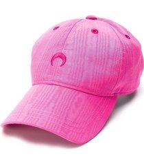 marine serre crescent moon baseball cap - pink