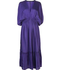 lemlem jordanos beach dress - purple