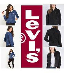 new levi's women's boyfriend sherpa trucker jacket all sizes many colors