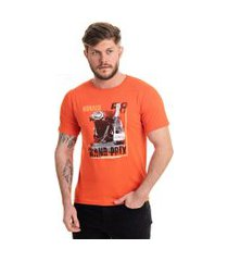 camiseta monaco laranja