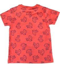 camiseta bebê oliver algodão macaquinhos masculina