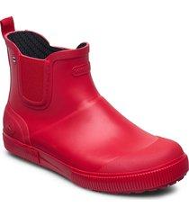 praise regnstövlar skor röd viking