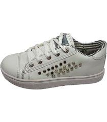 zapatilla blanca keek